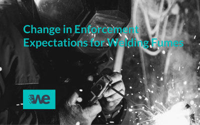 Change in Enforcement Expectations for Welding Fumes – February 2019